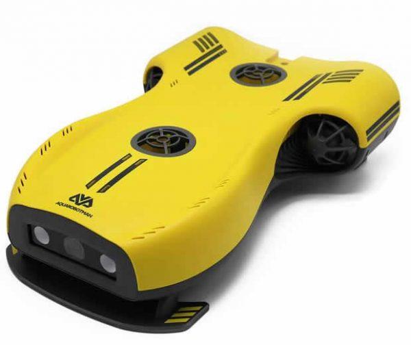 Aquarobotman underwater drone